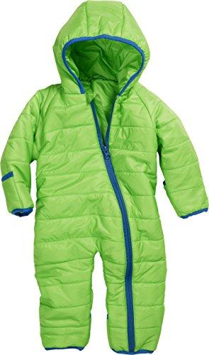 Schnizler Unisex Baby Stepp-Overall Schneeanzug, Grün (grün 29), 80