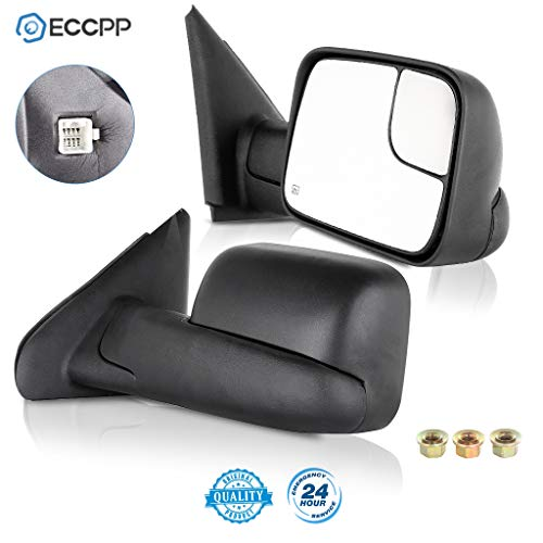 07 dodge ram heated tow mirror - 4