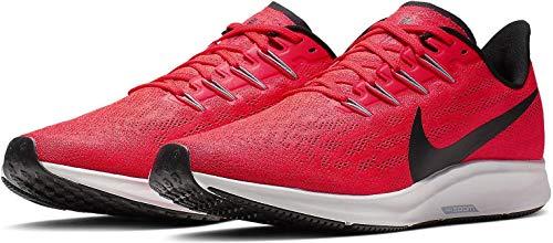 Nike Air Zoom Pegasus 36 Men's Running Shoe Bright Crimson/Black-VAST Grey Size 11.5