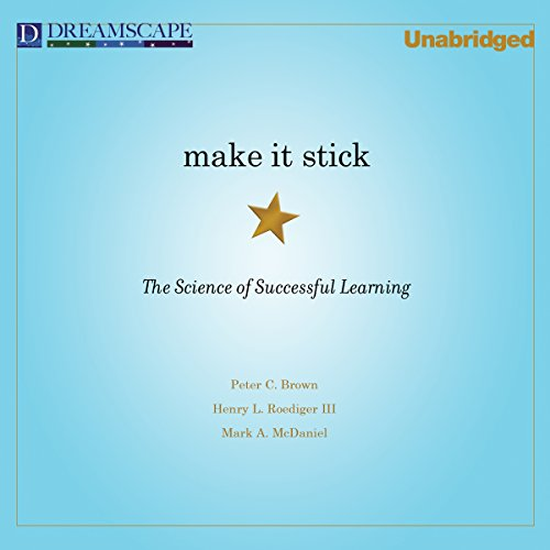 Make It Stick audiobook cover art