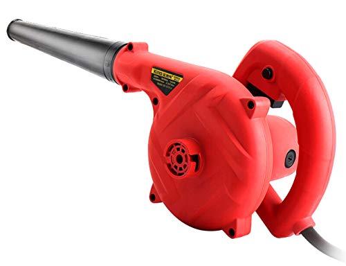 Vacuümblazer voor elektrische bladeren van lithium (Piccolo en handig, zonder accu en oplader), rood, kwaliteitszuiger Vaccuum Duster inflator handdouche elektrisch stofdicht gonf