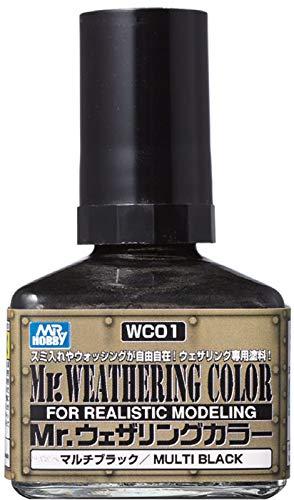 GSIクレオス Mr.ウェザリングカラー マルチブラック 40ml 模型用塗料 WC01