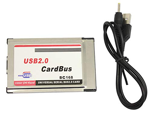 USB 2.0 CardBus (PCカード)ツライチタイプ