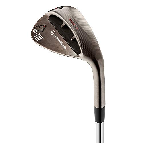Product Image 1: TaylorMade Milled Grind Hi Toe Raw Wedge Mens Right Hand Steel Stiff Big Foot 56.15