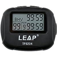 ATOPHK Intervalo Cronómetro Reloj LCD Digital Pantalla Grande Alarma Contador de Tiempo Cuenta Atrás Vibración, Entrenamiento Deportivo Crossfit Running Levantamiento de Pesas Negro