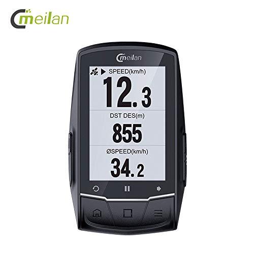 Walmeck- M1 GPS navigatie fietscomputer peedometer Candence hartslag 2.6