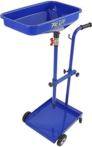 Pro-Lift-Werkzeuge Ölauffangwagen Altöl-Auffanggerät für Fässer und Ölkanister