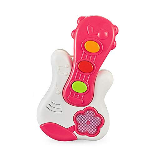 Buy LoveIyPet Baby First Guitar with Light and Music Plastic Musical Instruments Educational Toy for...