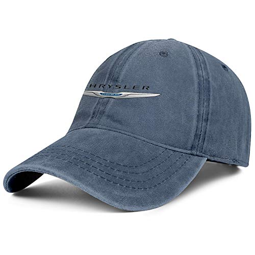 Men's Women Washed Ball Chrysler- Cap Twill Adjustable Snapback Travel Hat One Size
