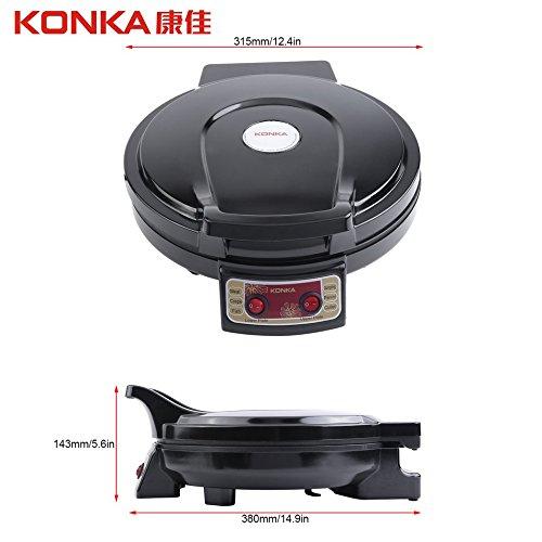 KONKA Plaque chauffante électrique et Backer Dual-Side Chauffage Poêle Machine à frire pour l'utilisation de la cuisine de ménage KBP-3201