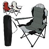 Linxor France ® Chaise de camping pliable + Sac...