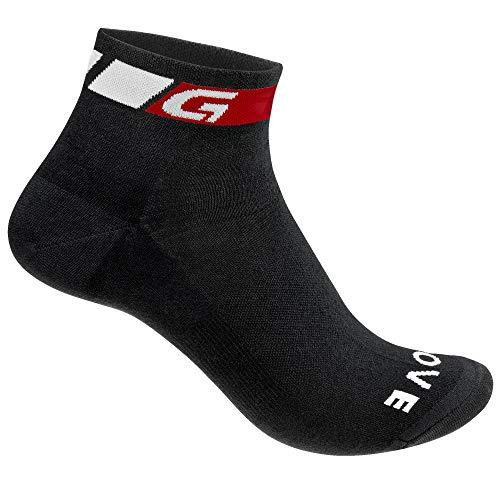 GripGrab Classic Low Cut-Single Pack Socken, Schwarz 1, M (41-44)