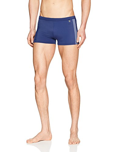 Schiesser Herren Bade-Retro Shorts, Blau (Navy 815), XXXXX-Large (Herstellergröße: 012)