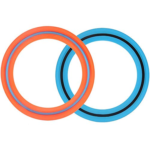 Flying Disc Ring Toys for Kids and Adults, 11 inch Flying Ring Outdoor Game,Pack of 3, Summer...