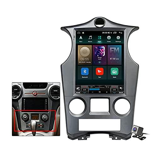 Buladala Android 11 Pantalla Vertical 9.7' Reproductor de automóvil Multimedia Navegación GPS para KIA Carens 2007-2011 Soporte FM Am RDS Autoradio Stéreo/Carplay Auto/SWC/BT,Auto,TS6