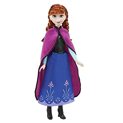 Disney Frozen Hasbro Shimmer - Anna (Fashion Doll con Capelli Lunghi e Abito Ispirato al Film Frozen, per Bambini dai 3 Anni in su)