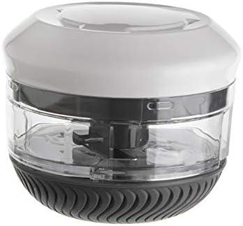 Keukenhandleiding Ui Chopper TwistMultifunctionele Creativiteit Wasbaar Veilig Materiaal Voedsel Supplement Machine met 2 Blades AZwart