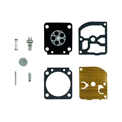 Carburador Chainsaw Carburetor Compatible con STIHL MS170 MS180 017 018 Sierra de cadena Compatible con Zama C1Q-S57 C1Q-S57A C1Q-S57B Kit de reparación de carbohidratos OEM # 1130 120 0603 Partes Del