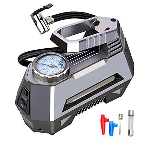 SLATIOM Inflador de neumáticos con compresor de Aire portátil - Bomba de neumáticos de automóvil con manómetro Digital (150 PSI 12v DC) (Color : Pointer)