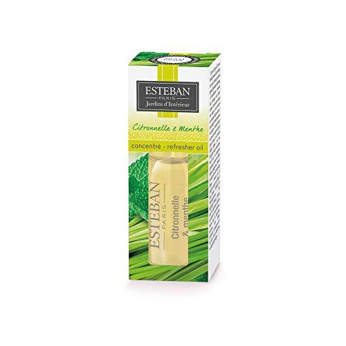 Esteban : Concentré De Parfum: Citronnelle, Menthe,15ml