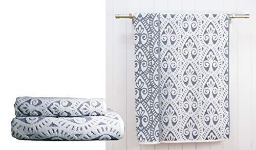 Ardenza - Juego de 2 toallas de Terry Towels Santorini, tamaño 48 x 90 cm, 70 x 140 cm, densidad 500 gsm, col. Arena 100% algodón