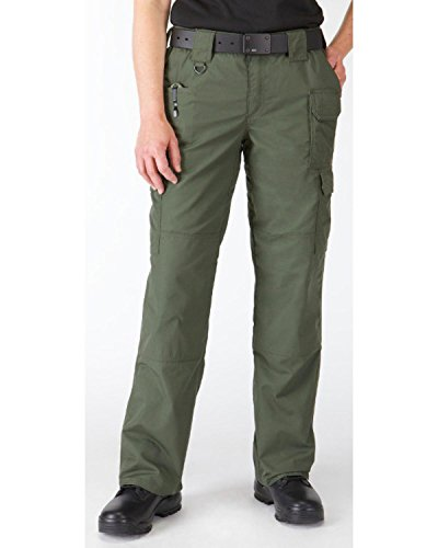 5.11 Women's Taclite Pro Tactical 7 Pocket Cargo Pant, Teflon Treated, Rip and Water Resistant, Style 64360