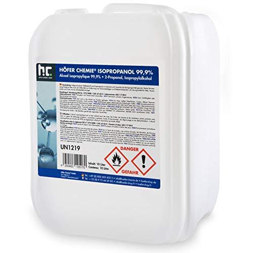 Höfer Chemie 10 L Isopropanol 99,9% IPA Erfahrungen & Preisvergleich