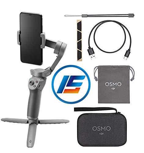 DJI Osmo Mobile 3 Portátil Dobrável Estabilizador de Gimbal Único Portátil para Smartphones com Mini Tripé