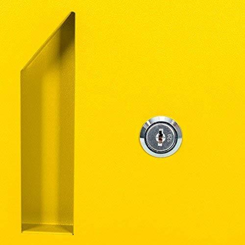Paketbriefkasten Smart Parcel Box, gelb - 7