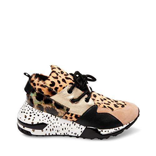 Price comparison product image Steve Madden Women's Cliff Sneaker,  Animal,  8.5 M US
