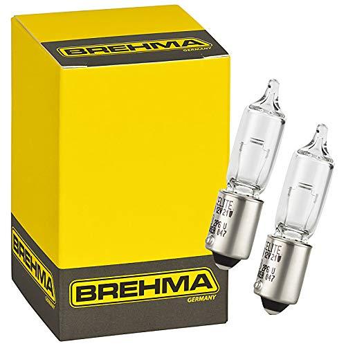 10x BREHMA Classic H21W 12V 21W BAY9s Halogen Lampe