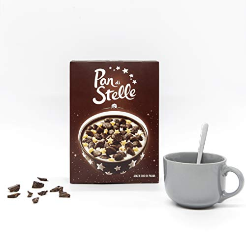 Pan di Stelle Cereali al Cioccolato per una Colazione Gustosa e Piena di Energia, 325 g