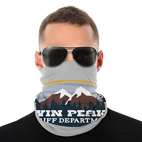 YUIT Twin Peaks Departamento del Sheriff Variedad Pañuelo en la cabeza Bufanda Magia Sombreros Cuello Polaina Cara Pañuelo Bufanda
