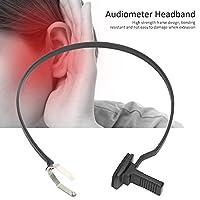 聴力計ヘッドバンド、骨伝導ヘッドホンヘッドバンド交換が簡単取り付けが簡単3芯骨伝導イヤホン用高強度フレーム