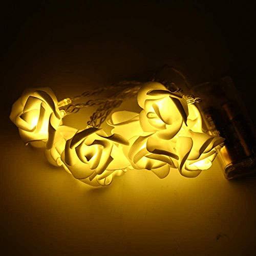 Henseek Decoración de Temporada Lámpara de 8 modalidades 100LED Alambre de Cobre USB-Powered, decoración de Navidad de la lámpara Cadena 12M-100 Lights_Four Colores Luces de la Secuencia