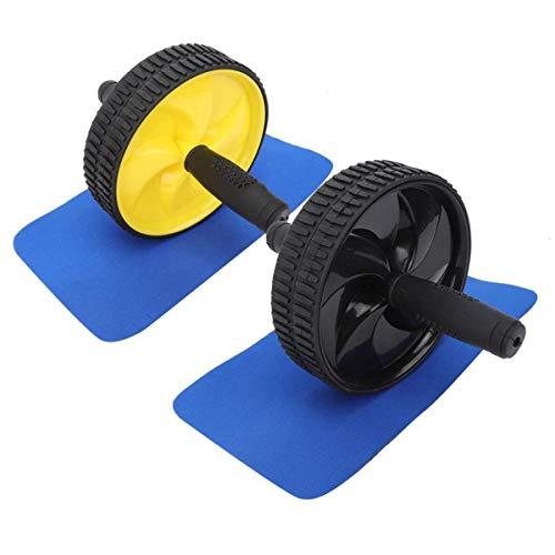 TikTako Rodillo Abdominal Rueda de Ejercicio Fitness Equipment Silencio de Rodillos para los Brazos hacia atrás Vientre Core Trainer Cuerpo Suministros Formación Forma como demostración