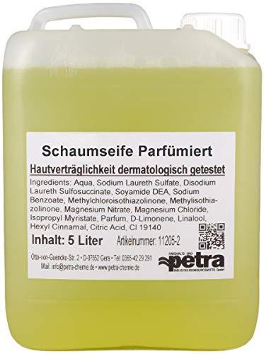 Schaumseife 2x5 Liter Kanister (parfümiert) - Qualität aus Thüringen (Artikelnummer 11205-2, Flüssigseife für Schaumseifenspender mit dezentem Duft)