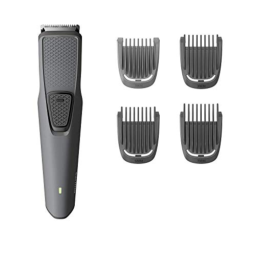 Philips Serie 1000 Bart- & Stoppel Trimmer/Haarschneidemaschine (1 mm - 7 mm) mit USB Aufladung - BT1216/15