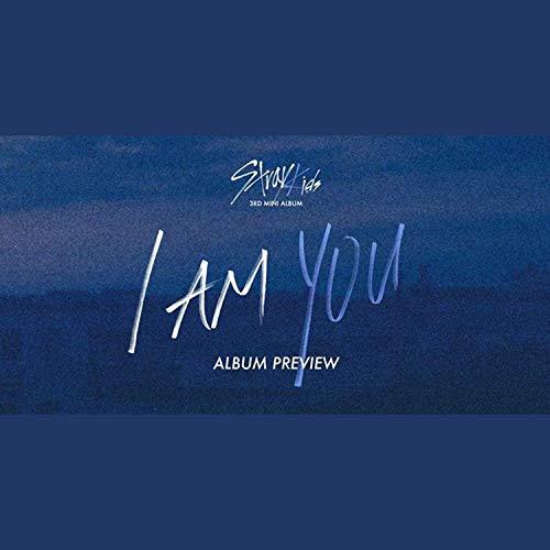STRAY KIDS 3rd Mini Album - I am YOU [ I AM ver. ] CD + Photobook + 3 QR Photocards + OFFICIAL POSTCARD BOOK AND PHOTOCARD + OFFICIAL POSTER + FREE GIFT / K-Pop Sealed