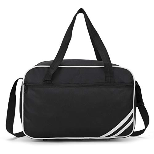 Ryanair Cabin Bag 40x20x25 Holdall Cabin Luggage Under Seat Flight Bag 2020 - in 6 Colours (White)