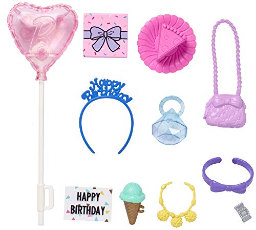 Barbie Storytelling Birthday Party Accessories Fashion Pack PLAYSET GHX36