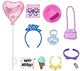 Barbie Storytelling Birthday Party Accessories Fashion Pack Playset ~ GHX36