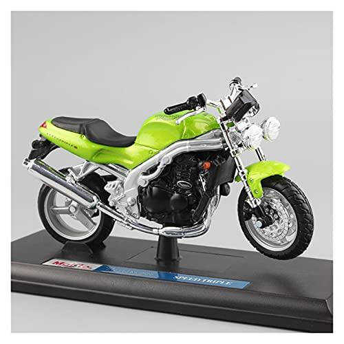Boutique. 1 18 Miniatura per Il 1998 Triumph Speed Triple T509 in Metallo Pressofuso Modello di Moto Moto Giocattoli per Ragazzi