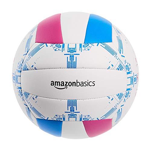 Amazon Basics - Palla da pallavolo, per giocatori amatoriali, misura 5