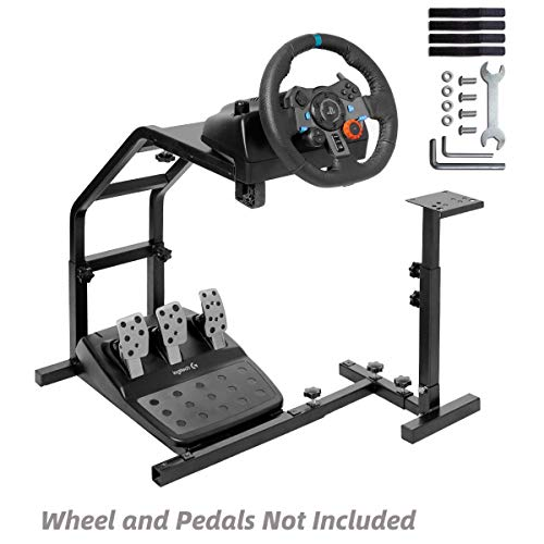 Marada Racing Wheel Stand Pro Support with V2 Stand Up for G29, G27 and G25 Racing Wheel Stand without Wheel and Pedals