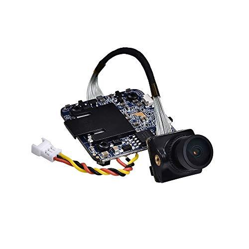 Ryyland-Home Mini cámara 1080P 60fps grabación HD WDR Baja latencia 16: 9/4: 3 NTSC/PAL conmutable FPV cámara for RC Aviones no tripulados (Color : Black, Size : 1080P 60fps)