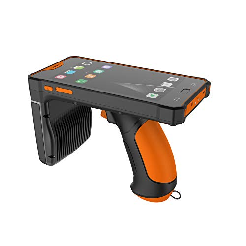 GAOTek Rugged PDA, Portable Data Terminal Or Handheld Industrial Mobile Computer With Honeywell 2D Barcode Scanner, 5.5Inch LCD Display, 13MP Camera, Handle Belt, 5000mAh Battery,Android 8.1|EDA-118-D -  GAO-EDA-118-D