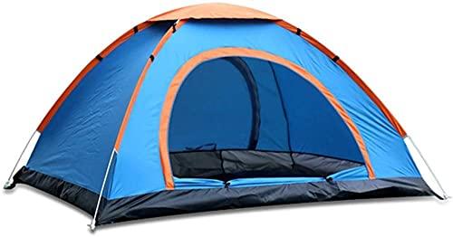 Tienda de campaña pop-up impermeable tienda instantánea tienda de campaña o camping senderismo viajes actividades al aire libre 200x200x130cm