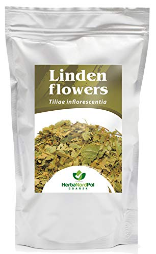 Lindenblüten Kräutertee | Wild gesammelte Tilia cordata |Reich an Flavonoiden | Loser Tee | 500G
