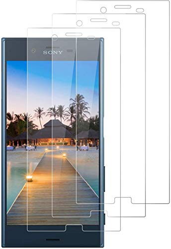 DOSNTO Cristal Templado para Sony Xperia XZ Protector de Pantalla (3 Piezas),...